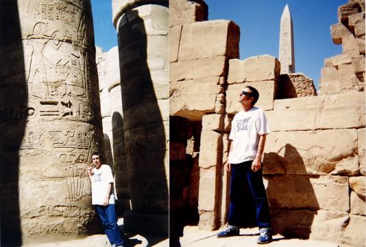 Josechu Souldier en Egipto